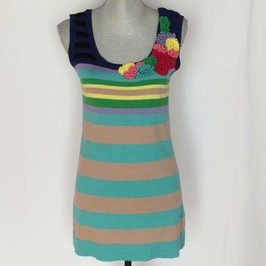 Escada Multicolored  Sleeveless Mini 👗  Dress.
